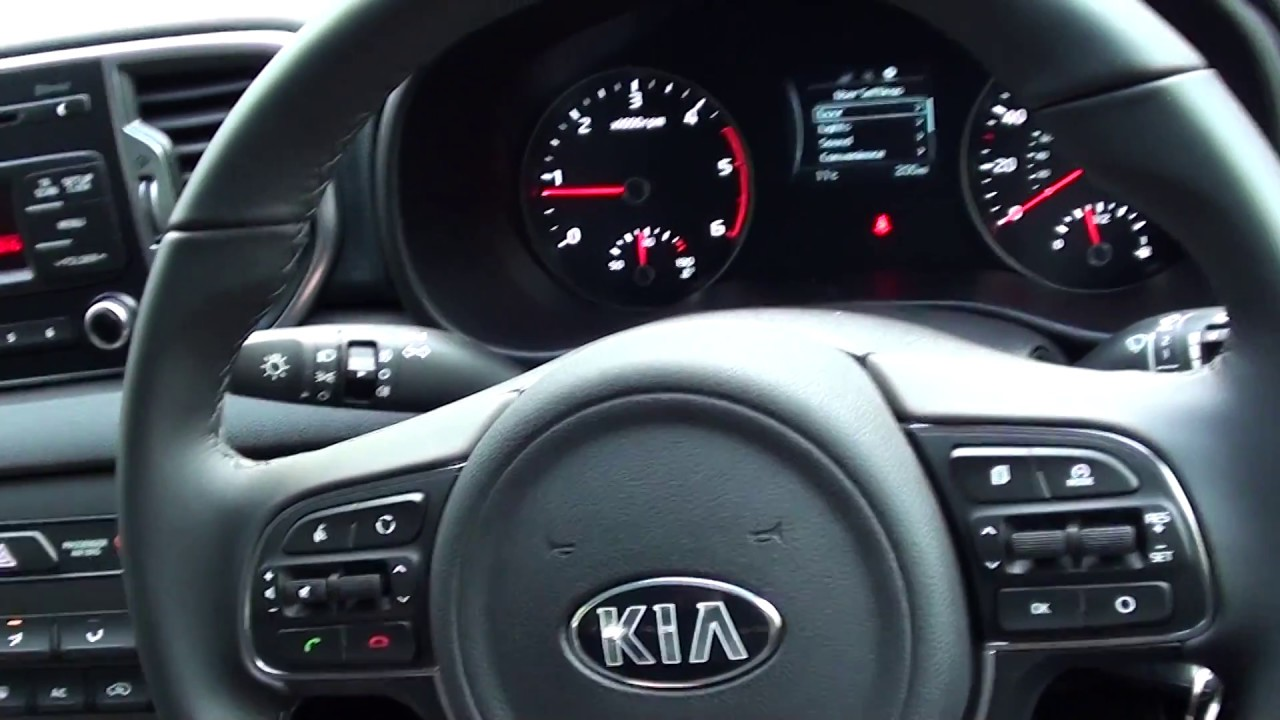 Kia Sportage Mk4 Engine Start  U0026 Warning Lights Guide