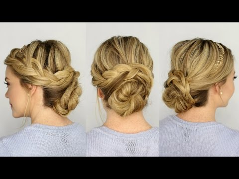 French Braid Updo 2018
