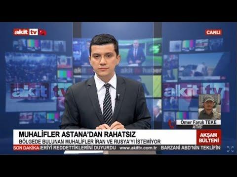 Haber 17:00 - Muhalifler Astana'dan rahatsız !
