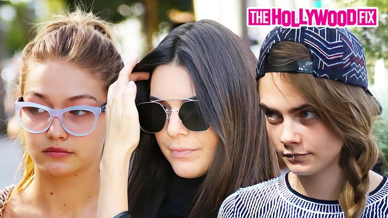 Kendall Jenner And Cara Delevingne 2016