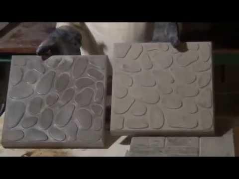 Ролик Производство тротуарной плитки своими руками в домашних условиях