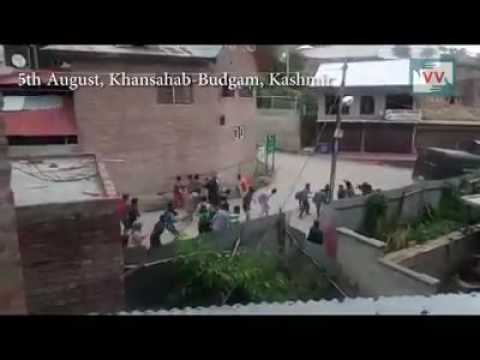 Kashmir Azadi Agitation 2016: In Budgam, Unprovoked killing of young kashmiri by Indian forces.