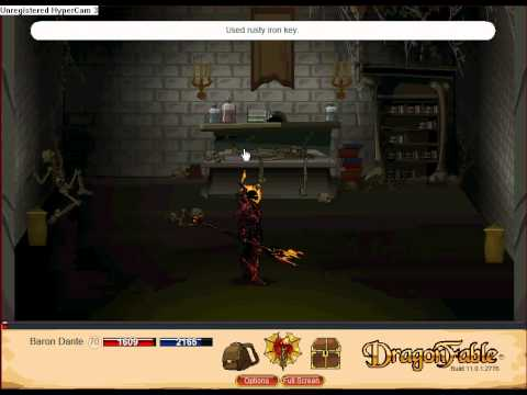 Dragonfable: How to get everything in Blackwyn Tomb