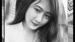 Beautiful Girl Drawing _ Hướng Dẫn Vẽ Girl Xinh  _ DP Truong