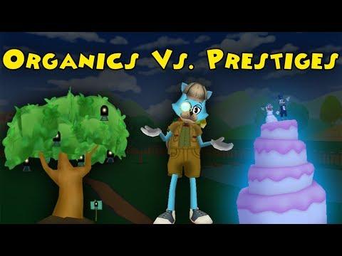 Organic Gags Vs. Prestige Gags