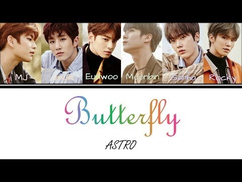 ASTRO - Butterfly (Color Coded Lyrics Han Rom Eng)