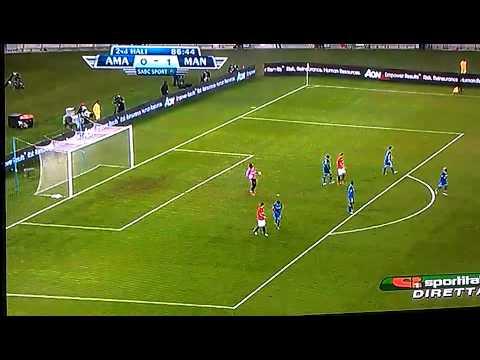 Amazulu - Manchester United ( Traversa di Davide Petrucci )