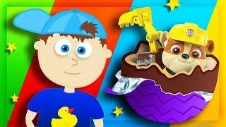 ЯЙЦА СЮРПРИЗ - Обзор на игрушки Ми-ми-мишки, фигурки Щенячий патруль и других героев