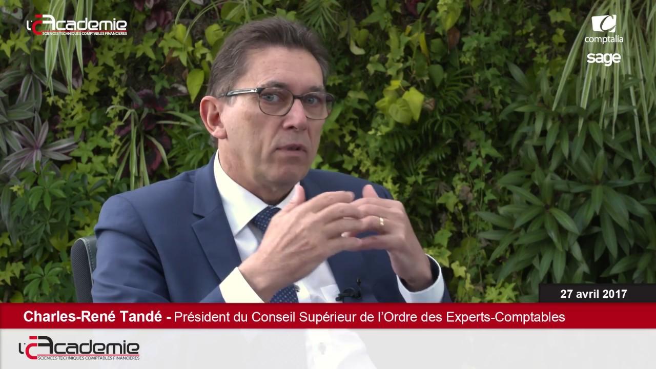 Les Entretiens de l'Académie : Charles-René Tandé