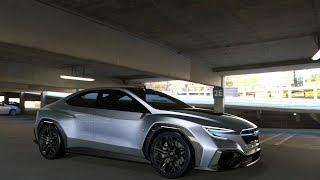 Subaru VIZIV Performance Concept Brings Next-Generation WRX/STI Rumble