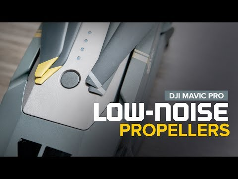 DJI Mavic Pro Platinum Low-Noise Propellers used on the Original Mavic Pro