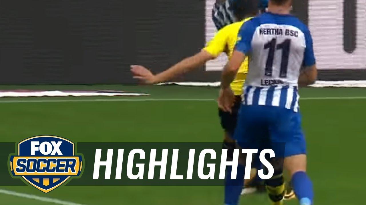 Download Borussia Dortmund vs. Hertha BSC Berlin   2017-18 Bundesliga Highlights