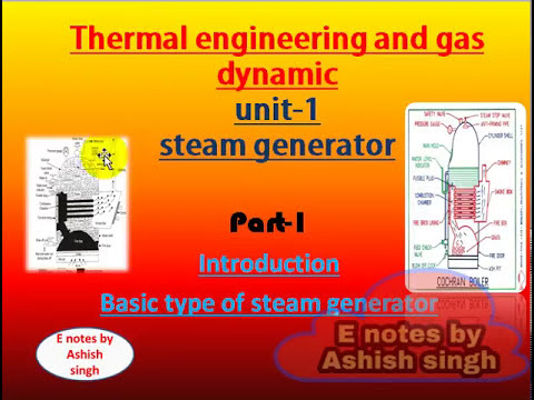 introduction and type of steam generator||part=1|| unit-1||TEGD ...