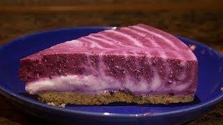 Творожный Двухцветный Пирог кулинарный видео рецепт