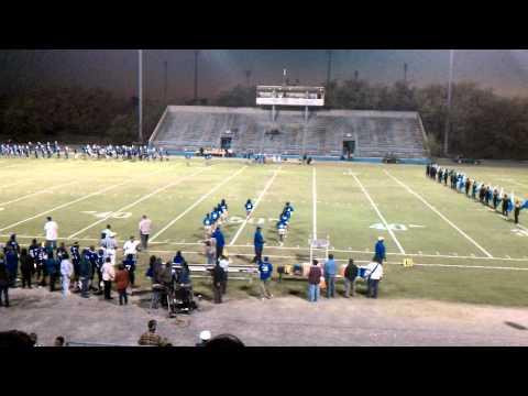 Burke High School High Steppin' Bulldog Band current and alumni members - Pre Game Part I