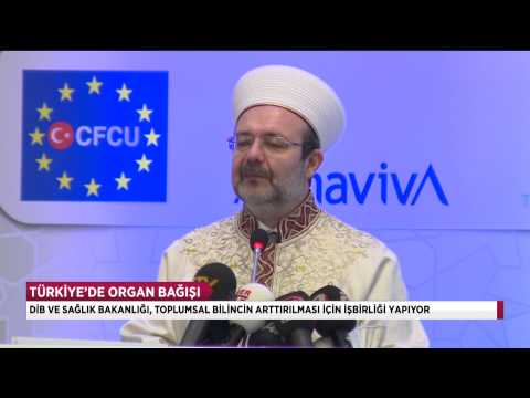 """Prof. Dr. Mehmet Görmez """"Organ bağışı candan cana en büyük sadakadır"""""""