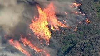 Waldbrände in Kalifornien außer Kontrolle