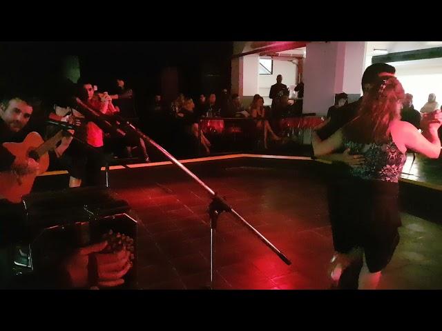 Tango baile y musica 2021, milonga Portal de Recoleta. Alexis Lovoti, Julián Bruno,