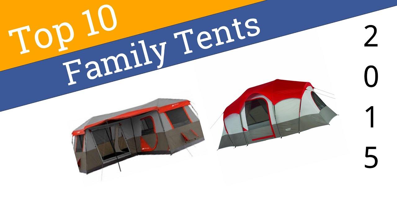 sc 1 st  YouTube & 10 Best Family Tents 2015 - YouTube