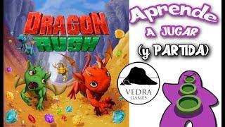 Dragon Rush - Cómo se juega - Reseña y Partida - Juego de Mesa