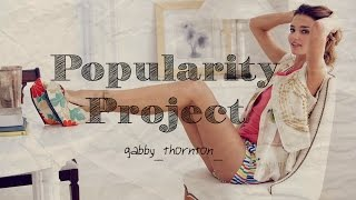 Popularity Project    Wattpad Trailer