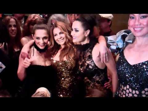 Israeli Declaration of Independence Fashion Models After Show