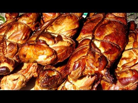 Как коптить курицу в домашних условиях холодного копчения