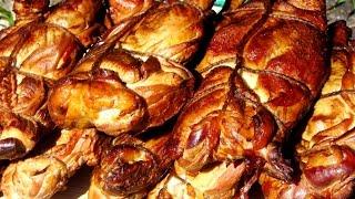 рецепт копчения курицы в коптильне холодного копчения