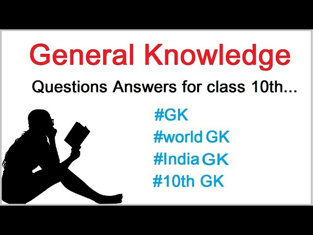 GK Questions for class 10th | Gk | General Knowledge | CBSE