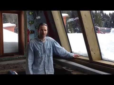 Les performances de nos fenêtres dans le cabanon style-earthship!