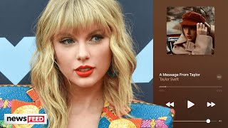 Taylor Swift Posts CRYPTIC Message On 'Red (Taylor's Version)' To Apple Music
