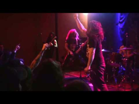 """Iron Reagan - """"Bleed the Fifth"""" at King's in Raleigh, NC (2-27-2017)"""