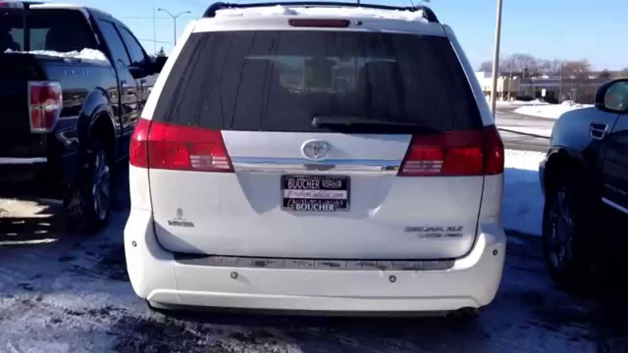 2004 Toyota Sienna XLE Limited AWD Boucher Cadillac   YouTube