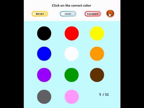learning game for kids find the color youtube - Color For Kid