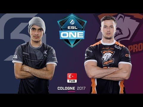 CS:GO - SK Gaming vs. VirtusPro I BO1-R2 I ESL One Köln