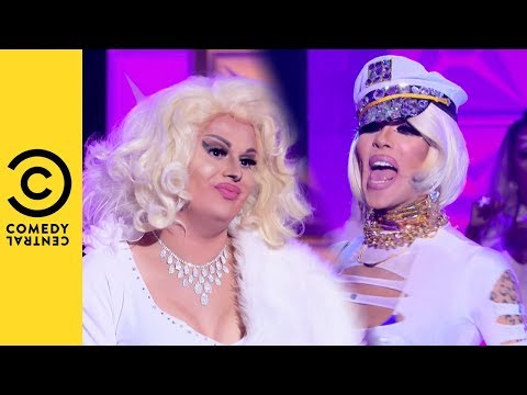 Jaymes Mansfield Vs Kimora Blac Lip Sync | RuPaul's Drag Race