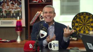 "Host Andy Cohen of ""Andy Cohen's Then & Now"" on Baseball Players Watching His Show - 5/10/17"