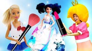 Игры для девочек - Леди Баг или Барби? Конкурс Красоты у Принцессы Сины! - Онлайн видео кукол