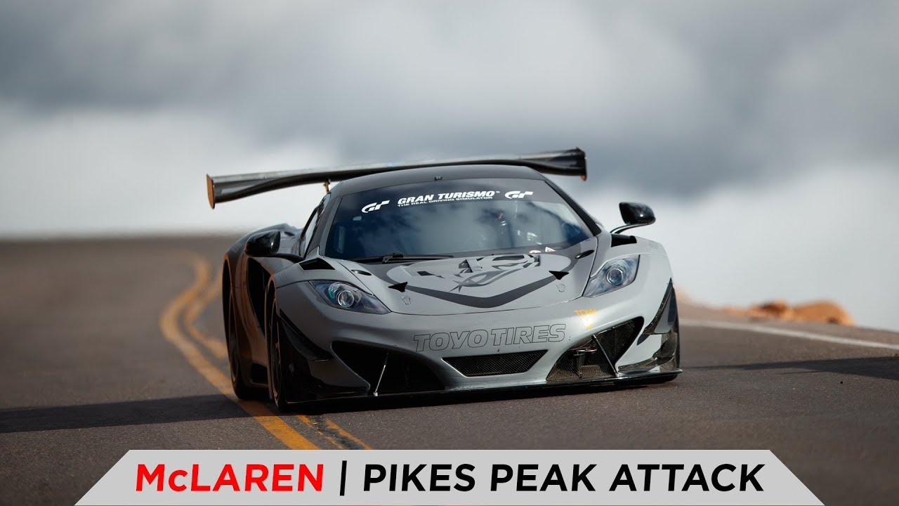 McLAREN 2018 PIKES PEAK FULL RUN | TOYO TIRES [4K]