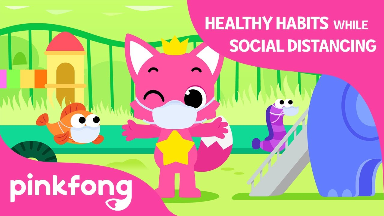 Healthy Habits while Social distancing | Let's learn Healthy Habits | Pinkfong Songs For Children