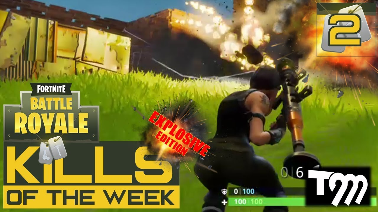 Fortnite Battle Royale Kills Of The Week