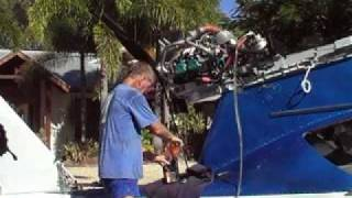 Repeat youtube video 1st engine run Rotax 912 ULS