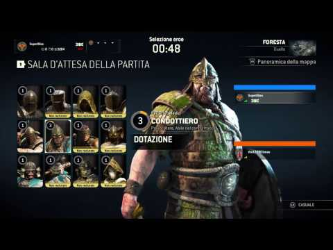 For Honor:  PvP Condottiero (Vichinghi)
