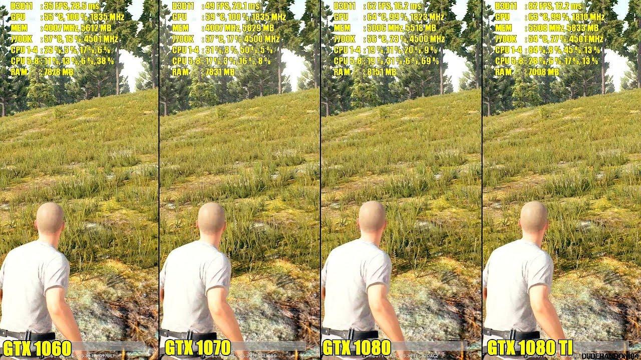 Gtx 970 vs 1060 pubg | Nvidia GTX 1060 Overtakes 970 as most
