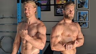 Arms Blasting Biceps Triceps Workout | We Break in the Buff Dudes Gym