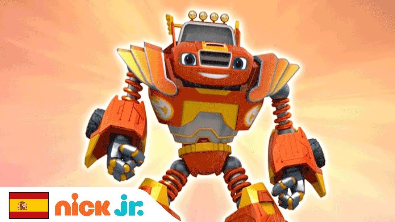 Blaze And The Monster Machines Robot Power Music Video Nick Jr