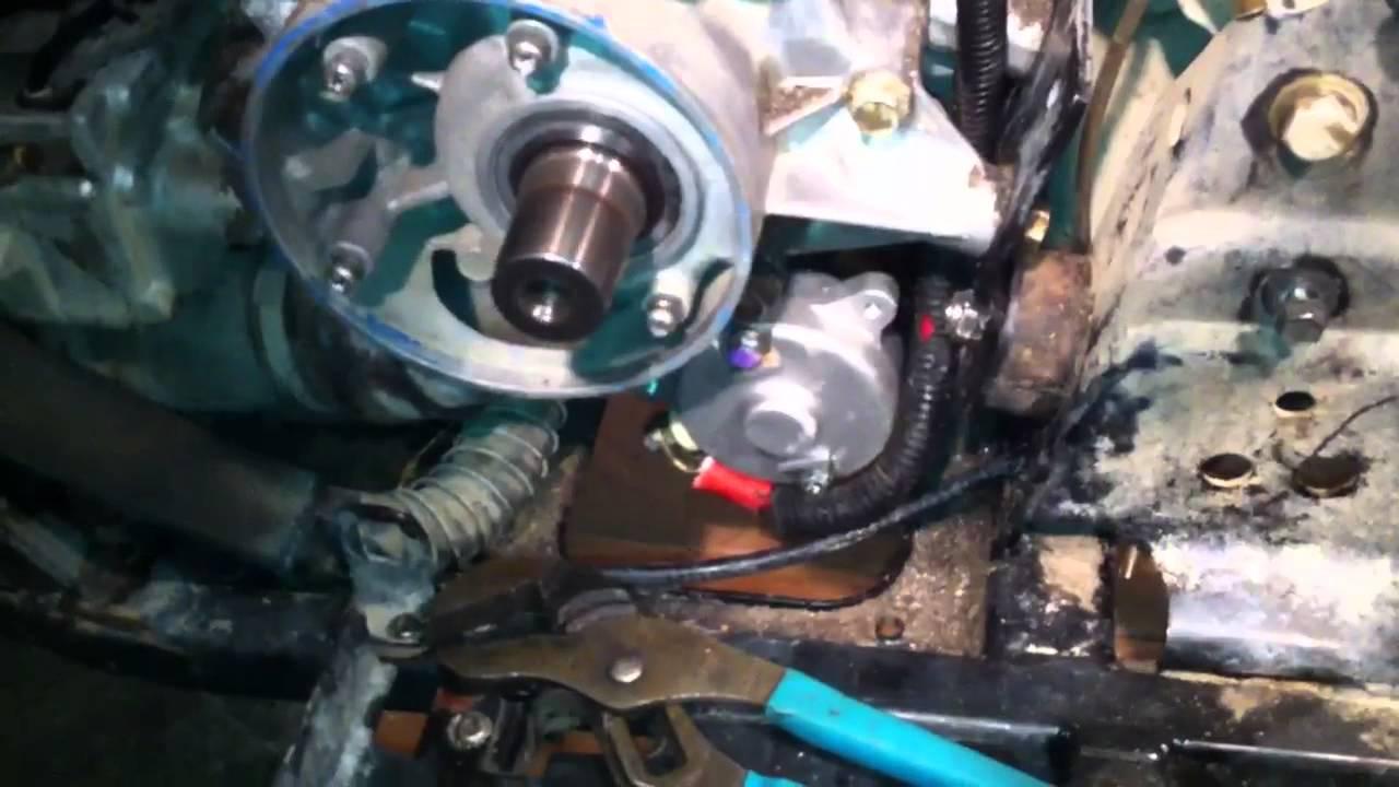 polaris xplorer 400 Rear Axle Bushings & Starter Work  YouTube
