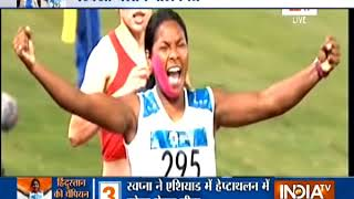 Asian Games: Country Salutes Wonder Girl Swapna Barman For Winner Gold Medal In Heptathlon