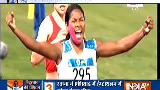 Asian Games: Country Salutes Wonder Girl Swapna Barman For Winner Gold Medal In Heptathlon