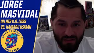 Jorge Masvidal says he's 'a fan' of Kamaru Usman's KO, still wants title | Ariel Helwani's MMA Show